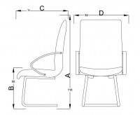 HC2_-_HOLLY_SIDE_CHAIR_SLEIGH_BASE