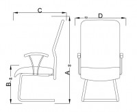 LC2_-_LISA_NETTED_MID_BACK_SIDE_CHAIR_-_SLEIGH_BASE