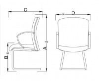 fc2-mid-back-side-chair-sleigh-base
